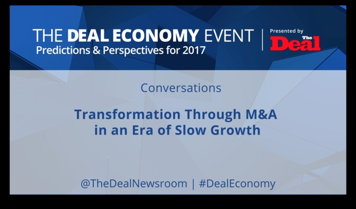 Transformation through M&A in an Era of Slow Growth
