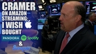 Jim Cramer: I Wish Apple Bought Pandora, Spotify and Songza