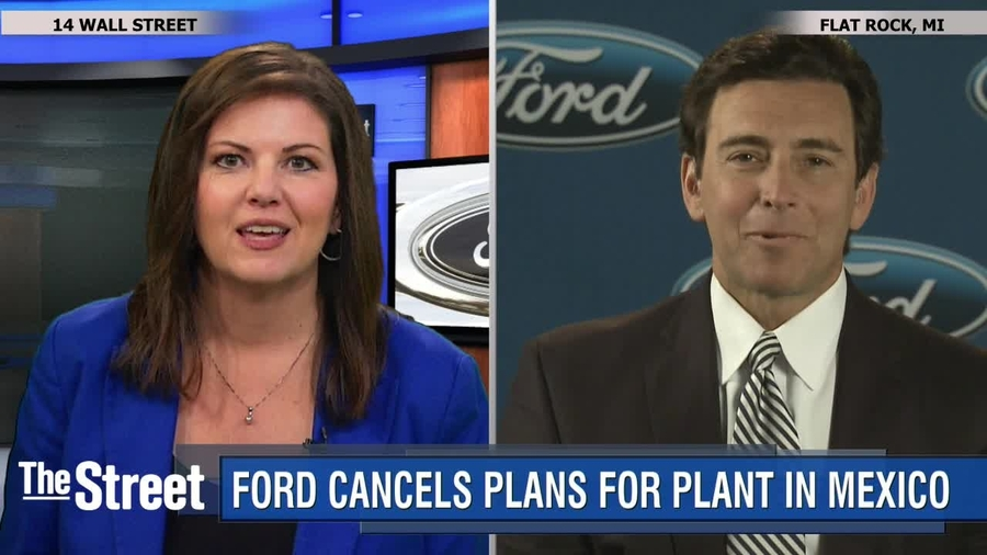 Ford Cancels Mexico Plant Ceo Says It Wasn T Due To Trump