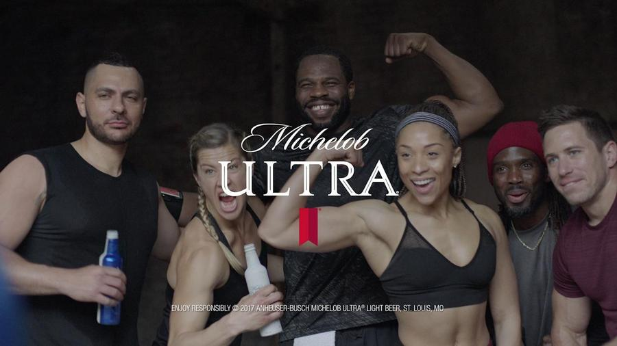 Michelob ultra targets fitness community in 2017 super bowl ad michelob ultra targets fitness community in 2017 super bowl ad thestreet mozeypictures Gallery