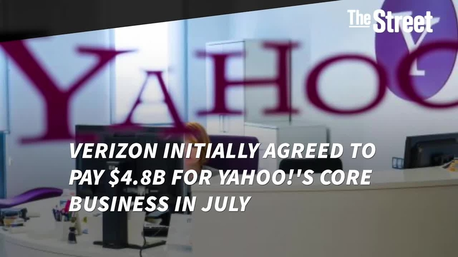 Verizon Is Paying 448b In Cash For Yahoo A 350m Discount