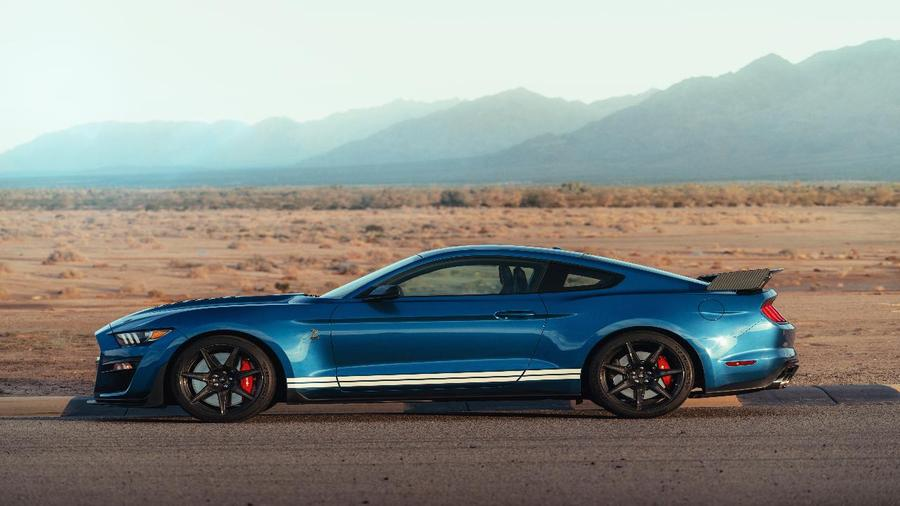 60862c1ff8 Go Behind the Wheel of the Fastest and Most Powerful Mustang Ever -  TheStreet