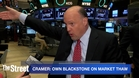 Jim Cramer Say Own Blackstone Group as the Markets are Improving